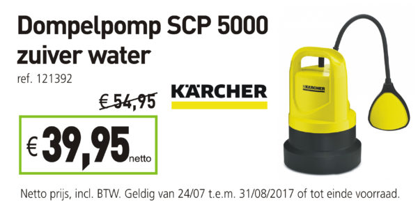 dompelpomp karcher