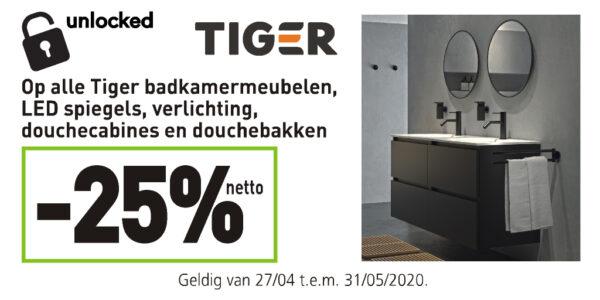 Tiger badkamermeubelen unlocked