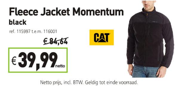 Cat fleece jacket Momentum