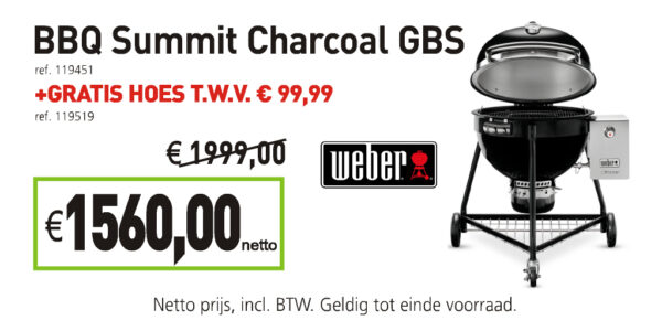 Weber bbq summit charcoal gbs