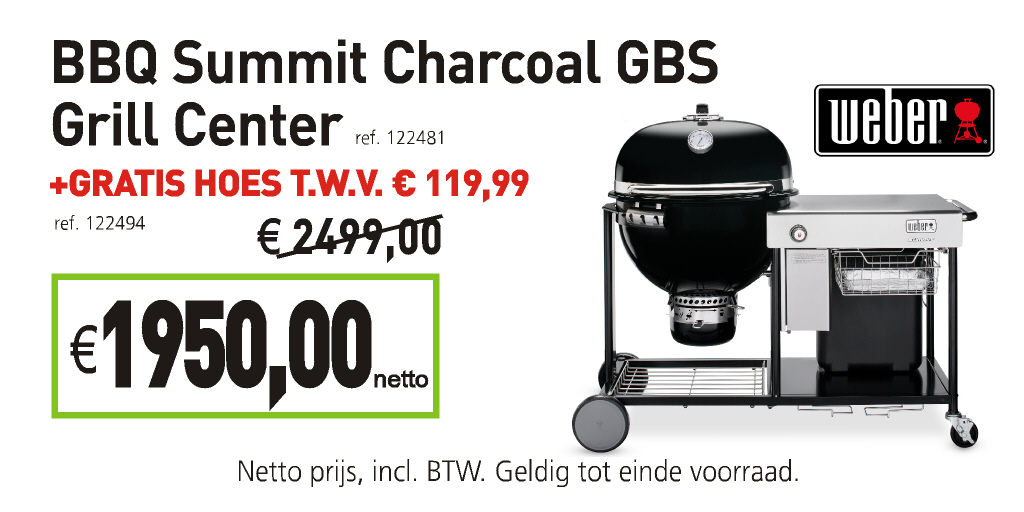 Weber bbq summit charcoal gbs grill center