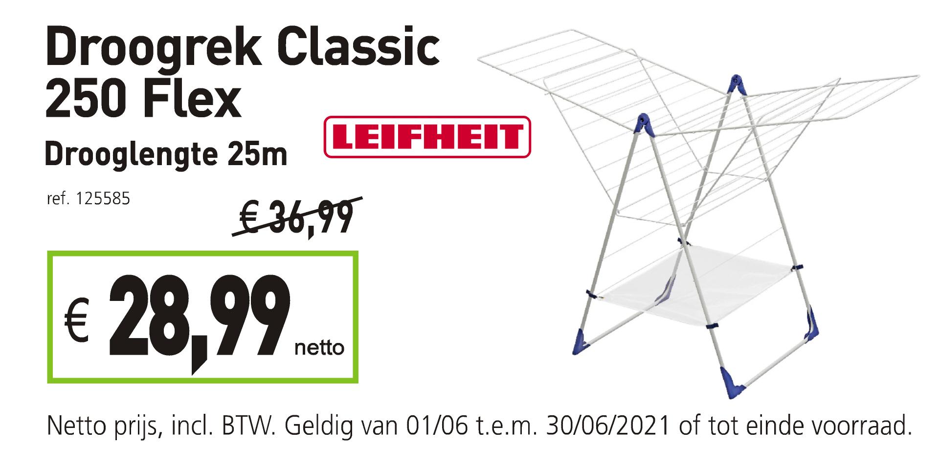 Droogrek Leifheit Classic 250 Flex